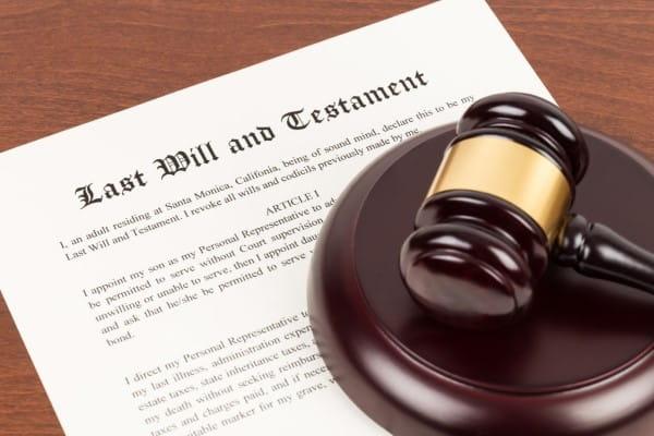 last will & testimony lawyer